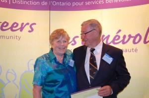 Judy Fletcher and John Bufton