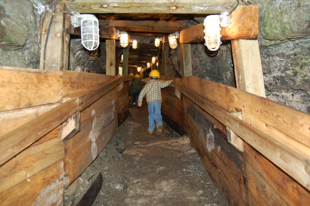 More mine tours this fall! S. Gray photo