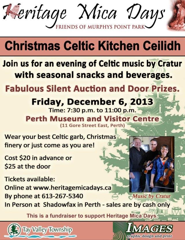 Christmas fundraiser poster