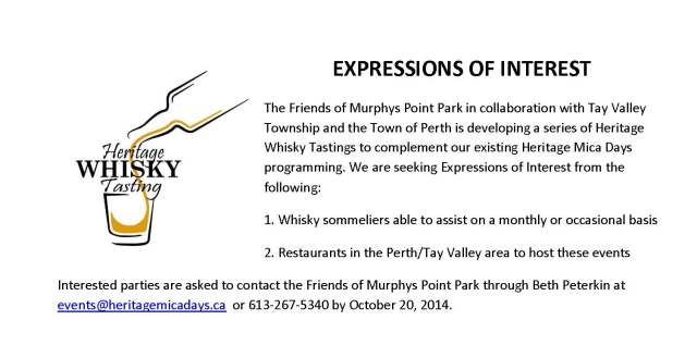 Expression of Interest re Heritage Whisky-crop