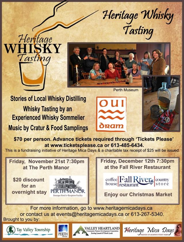 Heritage Whisky Tasting ad - final Nov 2014