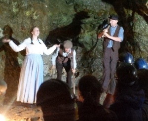 dorothy in the mine