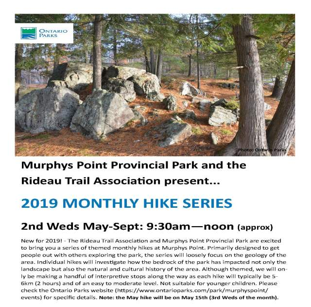 RTA Monthly Hikes