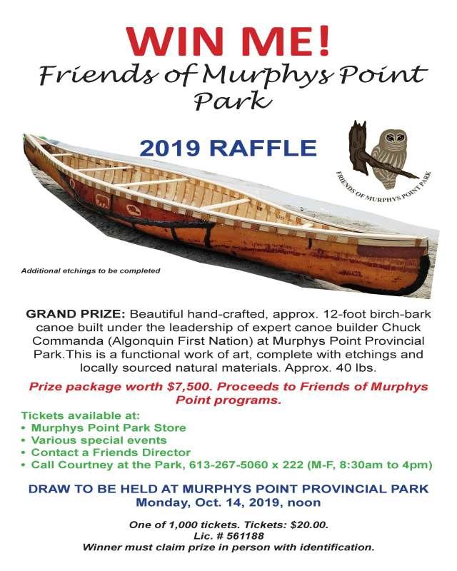 2019 Raffle Poster-new canoe photo-small